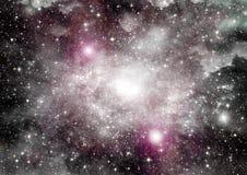 Galaxie dans un espace libre photographie stock libre de droits