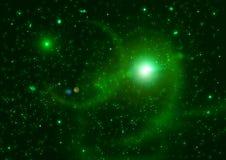 Galaxie dans un espace libre photo libre de droits