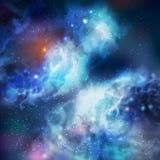Galaxie de guindineau de vecteur de 100% Image libre de droits