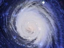 Galaxie de l'espace Photos stock
