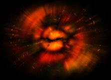 Galaxie de l'espace Photos libres de droits