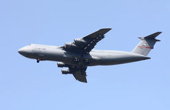 Galaxie de Lockheed C-5B d'armée de l'air des États-Unis Images stock
