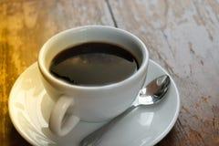 Galaxie de manière laiteuse sur le café photos libres de droits
