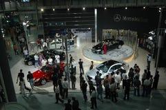 Galaxie des berühmten Autoautoausstellungsstandorts Stockfoto