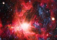 Galaxie - Elemente dieses Bildes geliefert von der NASA Lizenzfreie Stockfotos