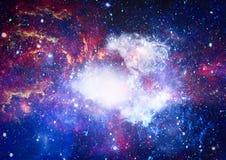 Galaxie - Elemente dieses Bildes geliefert von der NASA Stockbild