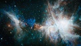 Galaxie - Elemente dieses Bildes geliefert von der NASA Stockfoto