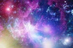 Galaxie - Elemente dieses Bildes geliefert von der NASA Lizenzfreie Stockbilder