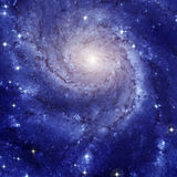 Galaxie en spirale M101 image libre de droits