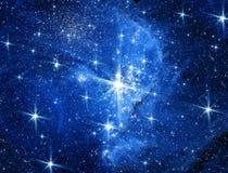 Galaxie et étoiles photo libre de droits