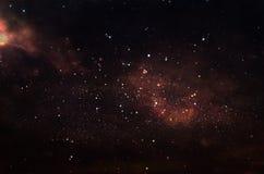 Galaxie et nébuleuse Texture étoilée de fond d'espace extra-atmosphérique Photos stock