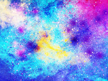 Galaxie-Hintergrund Lizenzfreie Stockbilder