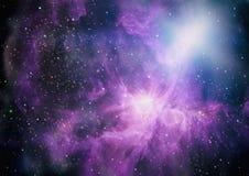 Galaxie im Raum, Schönheit des Universums, schwarzes Loch Elemente geliefert von der NASA Lizenzfreies Stockbild