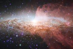 Galaxie im Weltraum, Sch?nheit des Universums stockfotos