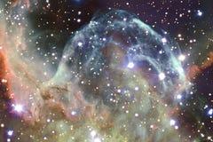 Galaxie impressionnante dans l'espace extra-atmosph?rique Starfields de cosmos sans fin photo stock