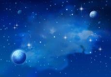 Galaxie inconnue Illustration de Vecteur