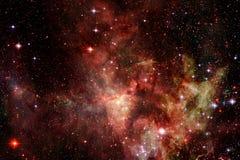 Galaxie incroyablement belle beaucoup d'années lumière loin de la terre illustration libre de droits