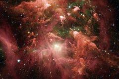 Galaxie incroyablement belle quelque part dans l'espace lointain Papier peint de la science-fiction photo stock