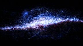 Galaxie lumineuse photographie stock