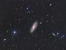 Galaxie M106 Lizenzfreie Stockfotografie