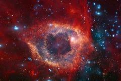 Galaxie quelque part dans l'espace extra-atmosphérique Éléments de cette image meublés par la NASA photos libres de droits