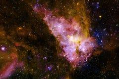 Galaxie quelque part dans l'espace extra-atmosph?rique ?l?ments de cette image meubl?s par la NASA photo libre de droits