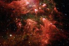 Galaxie quelque part dans l'espace extra-atmosph?rique ?l?ments de cette image meubl?s par la NASA illustration de vecteur
