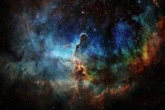 Galaxie quelque part dans l'espace extra-atmosph?rique ?l?ments de cette image meubl?s par la NASA photo stock