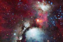 Galaxie quelque part dans l'espace extra-atmosph?rique ?l?ments de cette image meubl?s par la NASA illustration stock