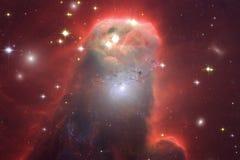 Galaxie quelque part dans l'espace extra-atmosph?rique ?l?ments de cette image meubl?s par la NASA images libres de droits