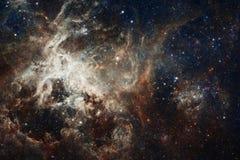 Galaxie quelque part dans l'espace lointain Beaut? d'univers images stock