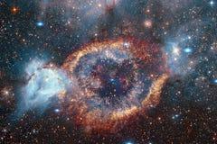 Galaxie quelque part dans l'espace lointain Beaut? d'univers photos libres de droits