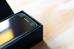 Galaxie S7 de Samsung Photos libres de droits