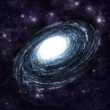 Galaxie spiralée illustration stock