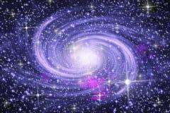 Galaxie spiralée Photos stock