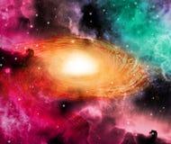 Galaxie spiralée Images libres de droits