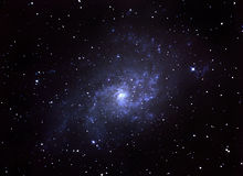 Galaxie spiralée Photo libre de droits
