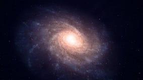 Galaxie spiralée Image libre de droits