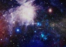 Galaxie spiralée dans l'espace lointain Éléments de cette image meublés par la NASA Photos libres de droits