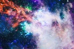 Galaxie spiralée dans l'espace lointain Éléments de cette image meublés par la NASA Images libres de droits