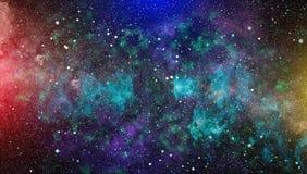 Galaxie spiralée dans l'espace lointain Éléments de cette image meublés par la NASA Photographie stock libre de droits