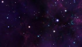 Galaxiehintergrund Lizenzfreies Stockbild