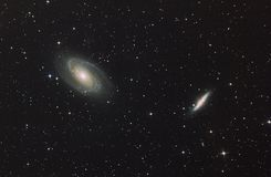 galaxien Stockbild