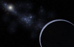 Galaxieplanetenhintergrund Stockbilder