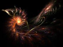 Galaxiesystemabsturz Lizenzfreie Stockbilder
