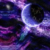 galaxplanet Royaltyfri Foto