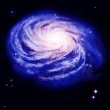galaxspiral royaltyfri illustrationer