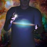galaxy Obrazy Royalty Free