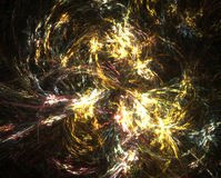 Galaxy. Formaion of a galaxy royalty free illustration