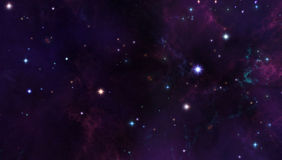 Galaxy background Royalty Free Stock Image